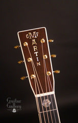 Martin D-45 guitar headstock