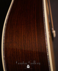 Martin D-45 guitar side detail