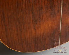 Delgado crossover guitar low back