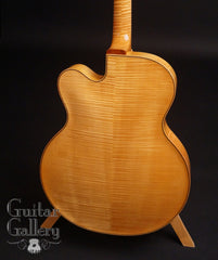 Benedetto Floral Manhattan archtop maple back