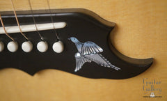 Gibson Doves in Flight guitar engraved bridge