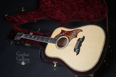 Gibson Doves in Flight guitar inside case
