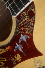 Gibson Doves in Flight guitar engraved pickguard