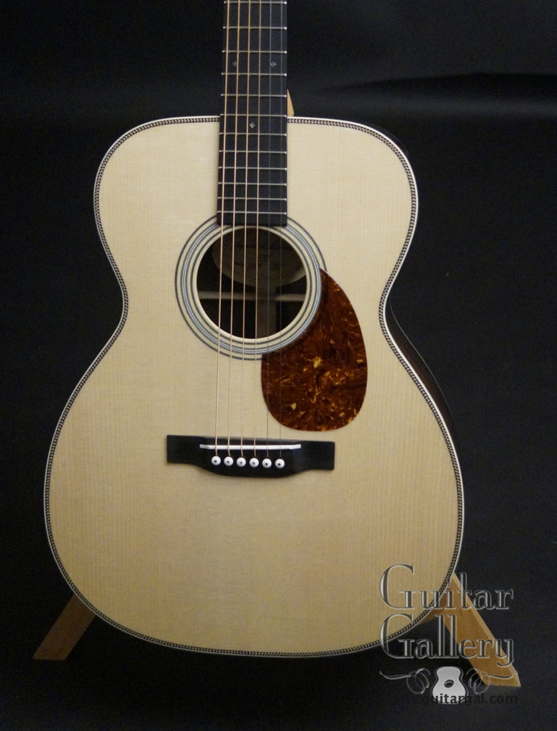 Dudenbostel OM-28 guitar Red Spruce top