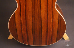 Elysian E13 guitar Madagascar rosewood guitar back low