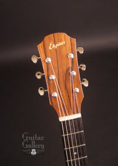 Elysian guitar headstock
