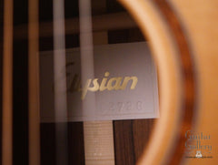 Elysian guitar interior label