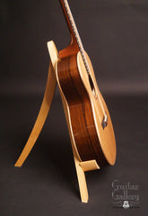 Elysian guitar Madagascar rosewood side view