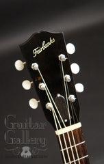 Fairbanks Roy Smeck guitar headstock