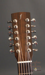 Flammang 12 String guitar headstock