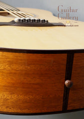 Flammang 12 String guitar view of tail