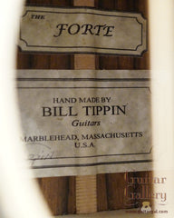 Tippin Forte Guitar labels