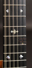 Froggy Bottom 12 string guitar fretboard