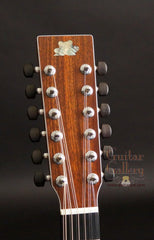 Froggy Bottom 12 string guitar headstock