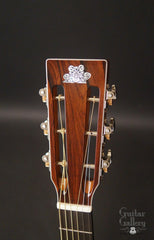 Froggy Bottom 50th Anniversary Guitar headstock