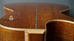 sinker mahogany Froggy Bottom guitar back