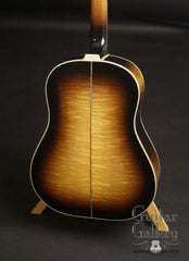 Froggy Bottom SJ sunburst guitar fiddleback maple back