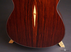 Greenfield G2 guitar Nicaraguan Mountain rosewood back low