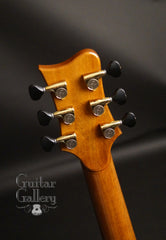 Greenfield GF guitar headstock back