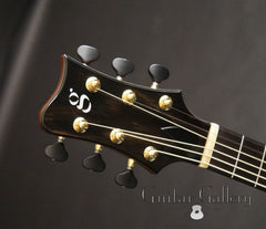 Greenfield GF guitar headstock