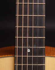 Galloup Hybrid Guitar fretboard