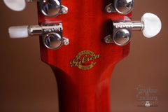 Gibson B-45 custom12 string guitar detail