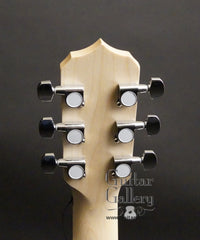 Deering Goodtime 6 string banjo headstock back
