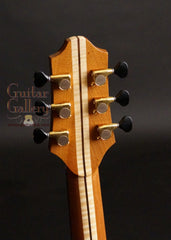 Charis SJ guitar headstock