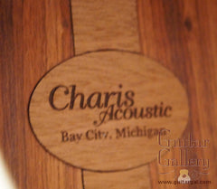 Charis SJ guitar label