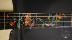 Greenfield Guitar Gallery 20th anniversary Guitar fretboard