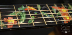 Greenfield Guitar Gallery 20th anniversary Guitar inlay