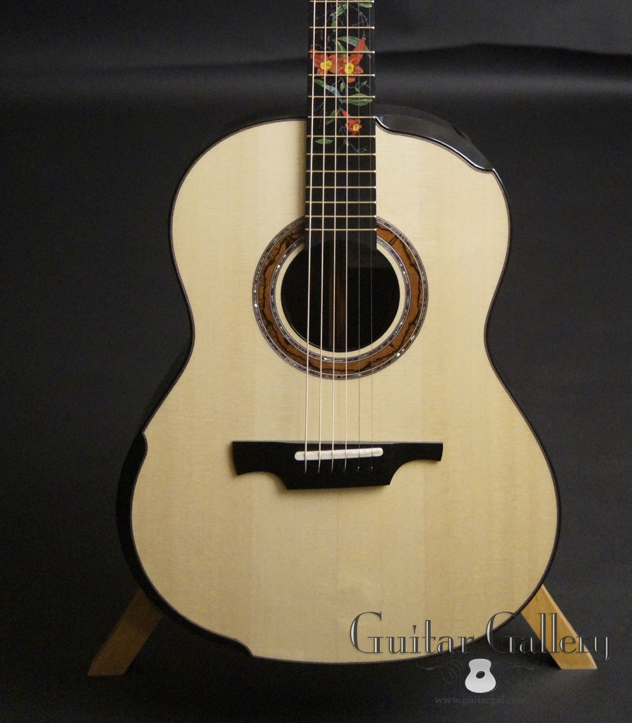 Greenfield Guitar Gallery 20th anniversary Guitar front