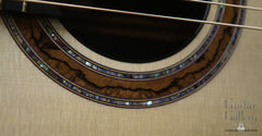 Greenfield Guitar Gallery 20th anniversary Guitar rosette close