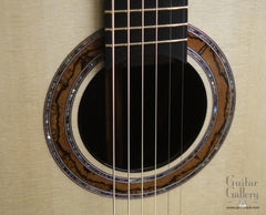 Greenfield Guitar Gallery 20th anniversary Guitar rosette