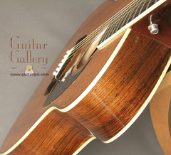 Greven 0000 Brazilian rosewood guitar shoulder