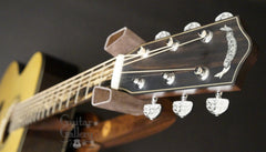 Guitar Gallery 20th anniversary guitar headstock