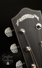 Greven Guitar Gallery 20th Anniversary Custom Prairie State guitar engraved tuners
