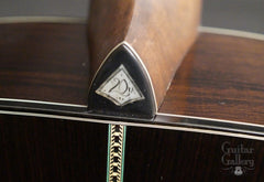 Guitar Gallery 20th anniversary guitar heelcap