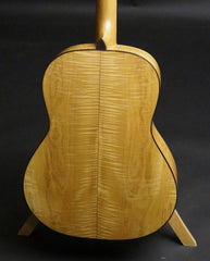 vintage Greven guitar Maple back