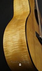 Greven guitar side view