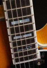 Guild Benedetto archtop fretboard detail