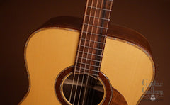 Hewett Brazilian rosewood D guitar at Guitar Gallery