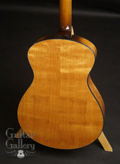 Halland OM guitar mahogany back