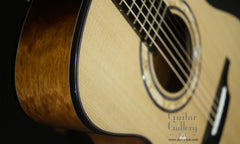 Halland OM guitar detail
