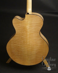 Hemken Hybrid Guitar Big Leaf Maple back