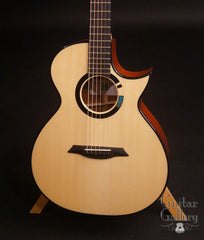 TreeHouse OMZ guitar Adirondack spruce top