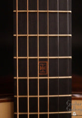 Indian Hill 00 guitar fretboard