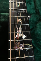 Ryan Mission GC guitar inlay