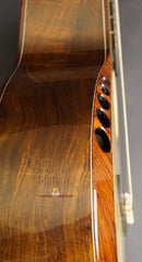 Ryan Abbey Parlor Guitar bevel