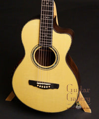Ryan Abbey Parlor Guitar Engelmann spruce top